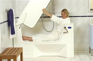 calibur 107 badewanne mit t r aventas gmbh. Black Bedroom Furniture Sets. Home Design Ideas